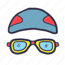 google, sport, summer, swim, swimming pool icon