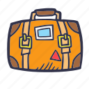 bag, briefcase, summer, tourism, travel, vacation icon