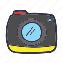 camera, gallery, image, photo, photography, picture, summer icon