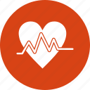 beat, ecg, heart, pulse icon