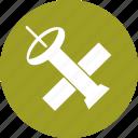 it, satellite, space, technology icon