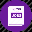 find, jobs, news, paper