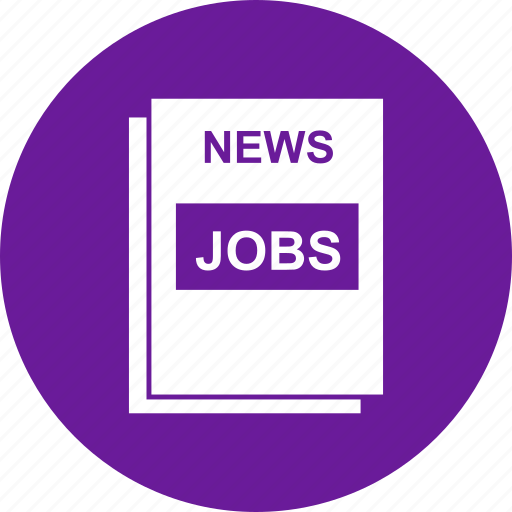 Find, jobs, news, paper icon - Download on Iconfinder