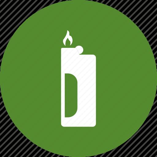 fire, lighter, smoke, smoking icon