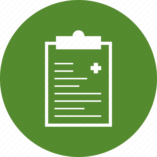 Document, medical, report icon - Download on Iconfinder