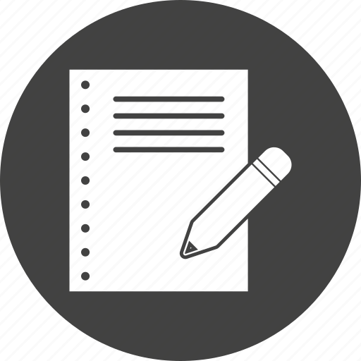 Document, report, write, written icon - Download on Iconfinder