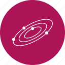 planets, solar, space, system, universe icon