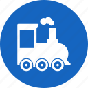 steam, train, transport icon