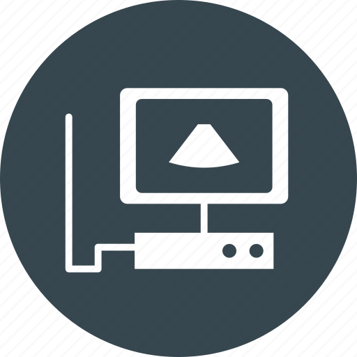 Computer, ecg, health, ultrasound icon - Download on Iconfinder
