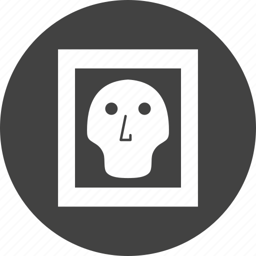 Bone, ray, skull, x icon - Download on Iconfinder