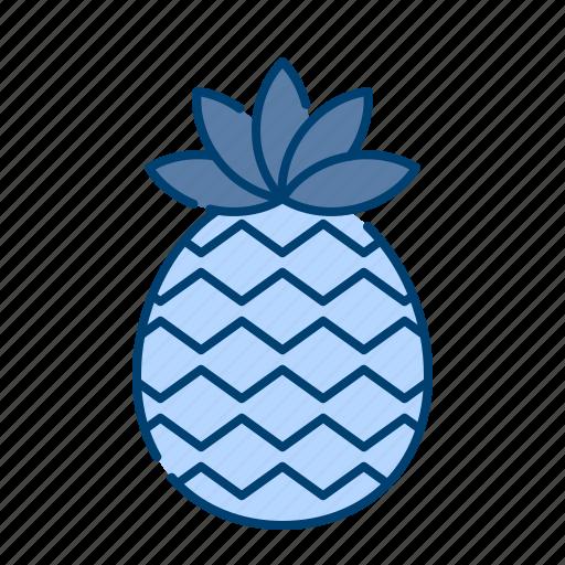 fresh, fruit, pineapple, summer, sweet, tropical icon
