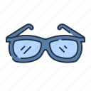eye glasses, glasses, summer, sun glass icon