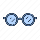 eye, glass, glasses, summer icon