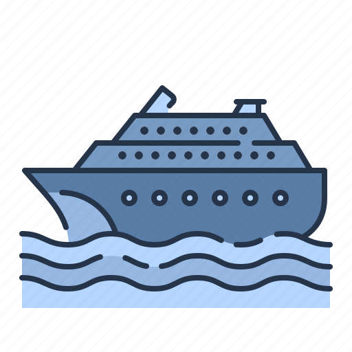 boat, ferry, ship, summer, transportation, vacation, yatch icon