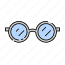 eye, glasess, glass, summer icon