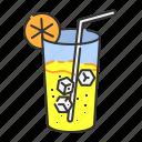 beverage, fresh, lemonade, soft drink, summer, thirsty icon