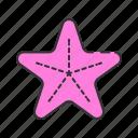 beach, fish, patrick, sea, star, starfish, summer icon