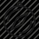 compass, gps, navigation icon