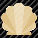 animal, seafood, shell, shellfish, summer icon