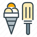 cone, cream, holiday, ice, snack, summer, vacation