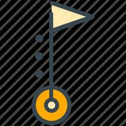 flag, holiday, location, navigation, summer, vacation icon