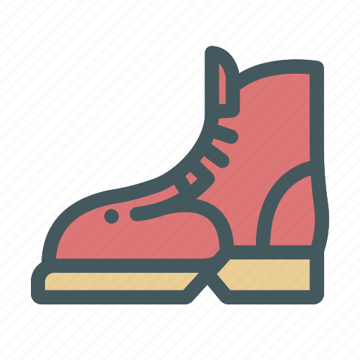 boots, fashion, hiking, summer icon