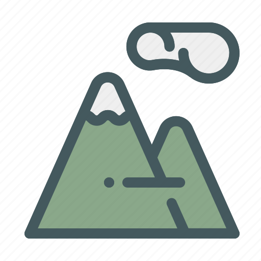 activities, adventure, holiday, mountain, nature, summer, vacation icon
