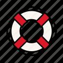 life, life saver, safe, summer, vacation icon