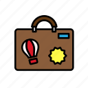summer, travel, travel bag, vacation icon