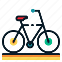 bicycle, cycling, sport, summer, transportation, travel, vehicle icon