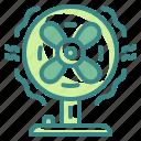 air, appliance, blow, cool, fan, ventilator, wind