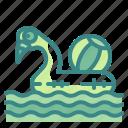 beach, flamingo, float, party, pool, swimming, travel