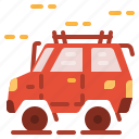 car, jeep, transport, vehicle icon