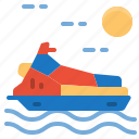jet, scooter, sea, ski, transportation, vehicle icon