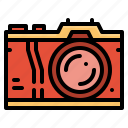 camera, digital, electronics, photo icon