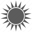energy, forecast, heat, light, sun, sunny, weather icon