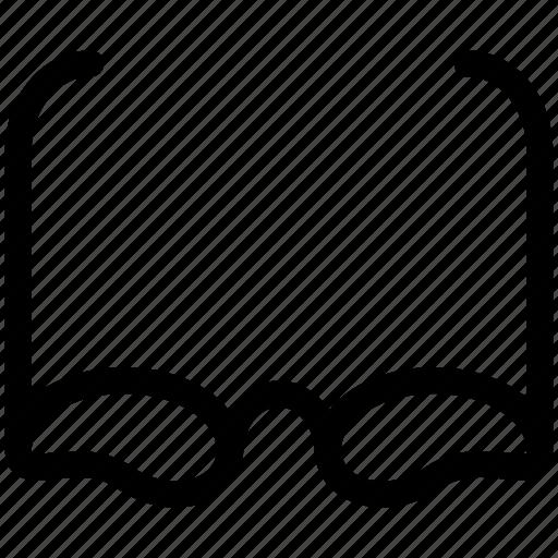 eyeglasses, sunglasses, view, watch icon