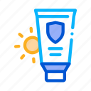 bottle, container, lotion, sunblock, sunscreen