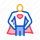 business, full, growth, hero, super, superman icon