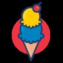 colorful, dessert food, ice cream