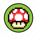 grow mushroom icon