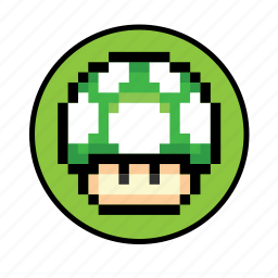 1up, 2 icon