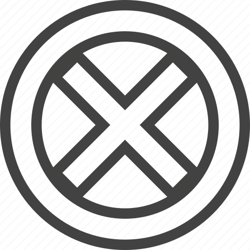 cross, superhero, x icon