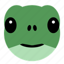 animal, cute, face, pet, reptile, tortoise, turtle icon