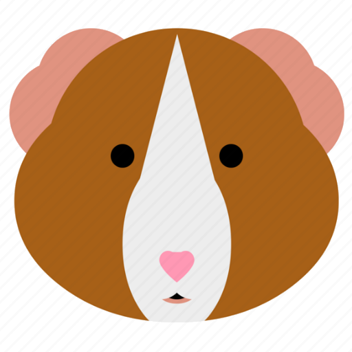 cavy, face, guinea, guinea pig, hamster, pet, pig icon