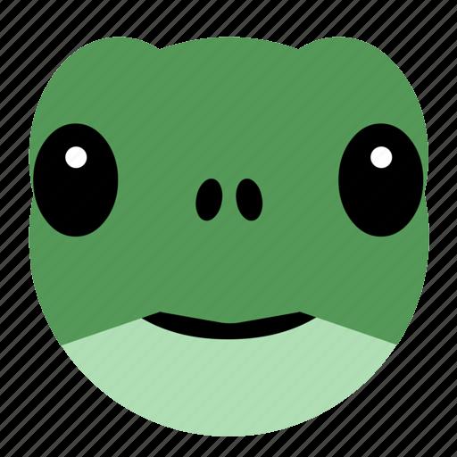 animal, cute, face, pet, reptile, tortoise, turtle icon