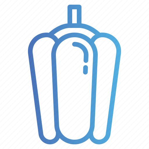 Bell, organic, pepper, vegetable icon - Download on Iconfinder
