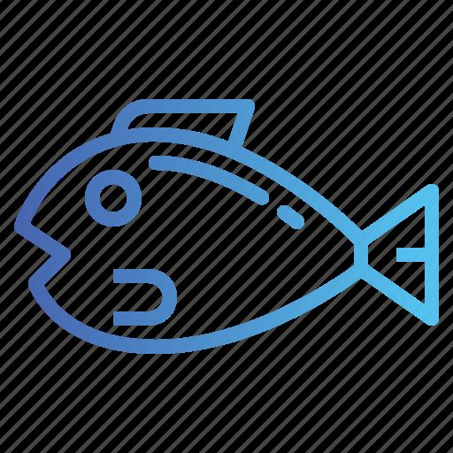 Aquatic, fish, food, pretien icon - Download on Iconfinder