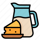 dairy, food, milk, products icon