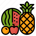 diet, food, fruit, healthy icon